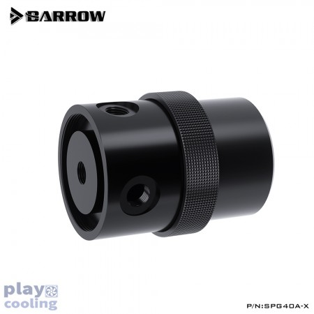 Barrow pump SPG40A -X PWM 18W (D5) Black-Black (รับประกัน 1 ปี )
