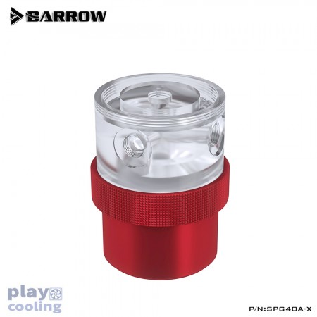 Barrow pump SPG40A -X PWM 18W (D5) transparent-red (รับประกัน 1 ปี )