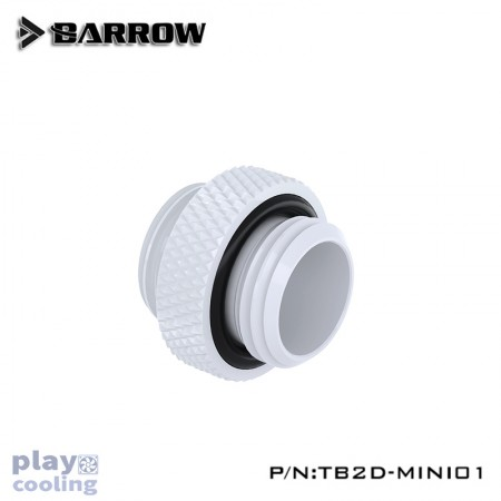 "Barrow Mini Dual Male G1/4"" Extender white"