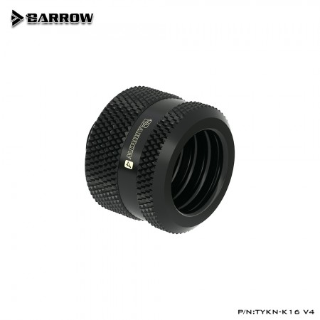 Barrow Compression Fitting  V4 - 16mm Black