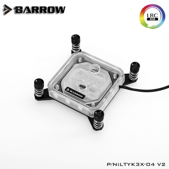 Barrow X99/ X299 platform Acrylic Aurora CPU water block