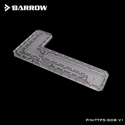 Barrow waterway plate for TT Core P5  open type case (TTP5-SDB V1)