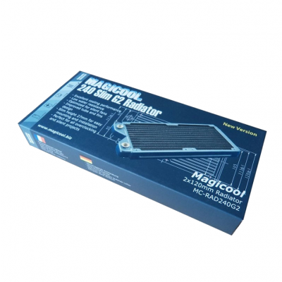 Magicool 240 G2 Copper Radiator Thick 27mm (รับประกัน 1 ปี)