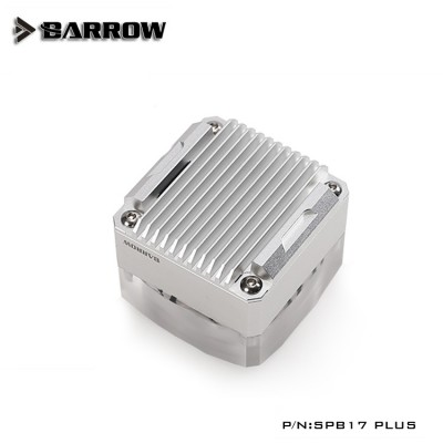 Barrow pump SPB17 PLUS (DDC) transparent-silver (รับประกัน 1 ปี)