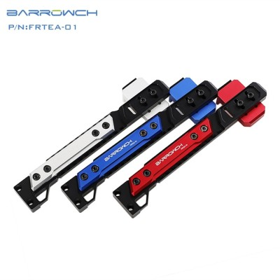 Barrowch adjustable aluminium alloy GPU bracket GPU mate Matt Silver  FRTEA-01 (ขาค้ำการ์ดจอ)