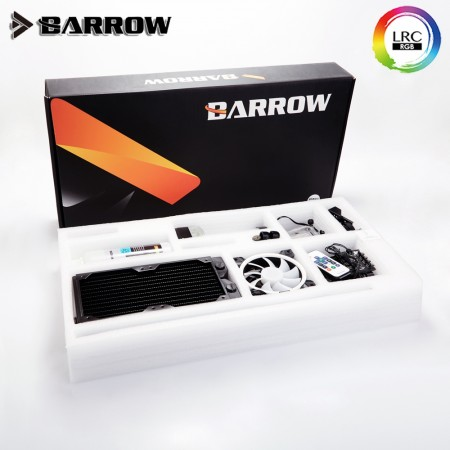Barrow B240 SPB17 ARGB Aurora Hard Tube (14mm) Water Cooling Kit  (รับประกัน 1 ปี)