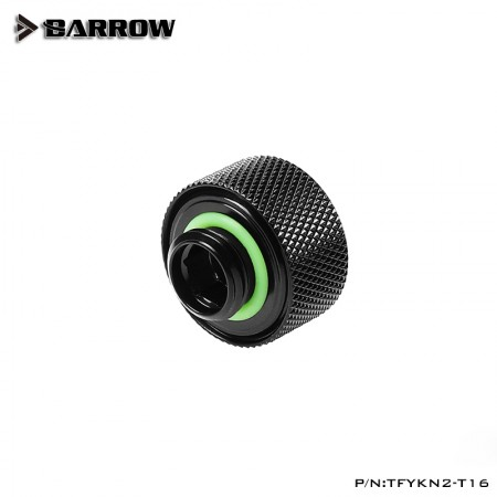 Barrow Choice Multicolor Compression Fitting T16 - 16mm - Black