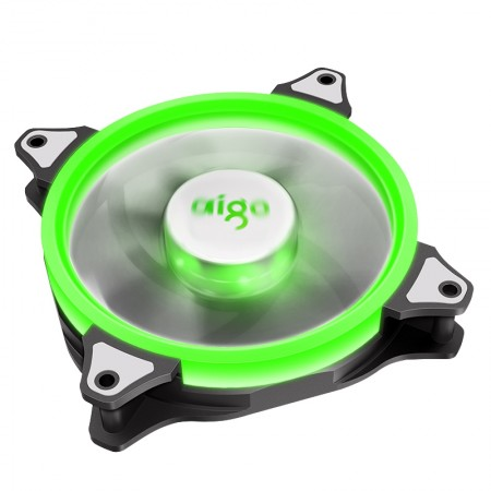 Aigo Aurora Fan 12CM green
