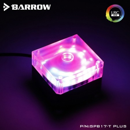 Barrow pump SPB17-S V2 PWM (DDC) transparent-silver (รับประกัน 1ปี)