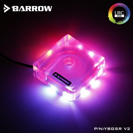 Barrow Aurora acrylic DDC Pump Top Cover