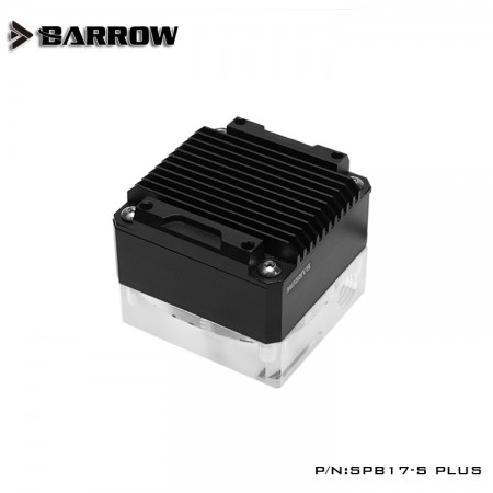 Barrow pump SPB17-S PLUS (DDC) transparent-black (รับประกัน 1ปี)