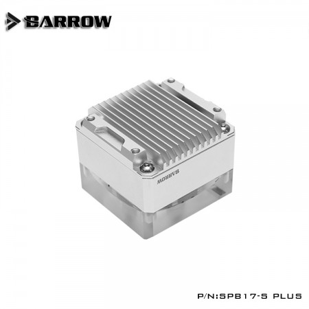 Barrow pump SPB17-S PLUS (DDC) transparent-silver (รับประกัน 1 ปี)