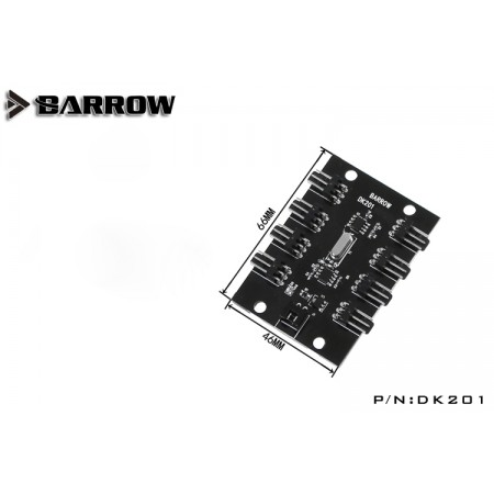 Barrow Remote type 8 lines LRC 2.0 (ARGB) light controller (Aurora)