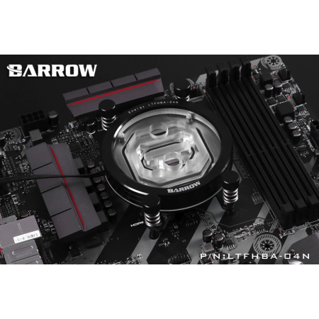 Barrow Energy series AMD RYZEN AM4  Water Block Supreme Edition black
