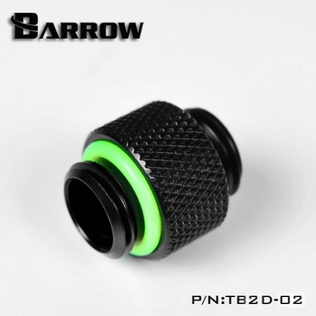 "Barrow Dual Male G1/4"" Extender black"