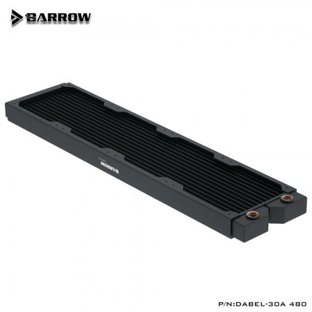 Barrow copper Radiator Dabel-a series 480 30mm (รับประกัน 1 ปี)