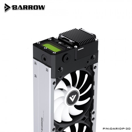 (สั่งจอง) Barrow Radiator Integrated Kit For ITX Mini Small Case DARIDP-30 240 Silver