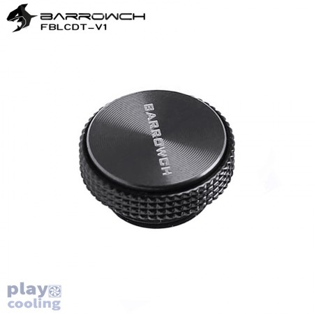 Barrowch Multicolor New CD Composite plate Finish Stop Plug Fitting  (Black - Classic Black)