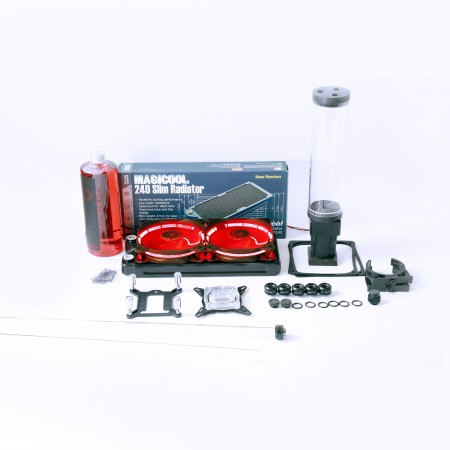 Basic Hard Tube 14mm Water Cooling Kit