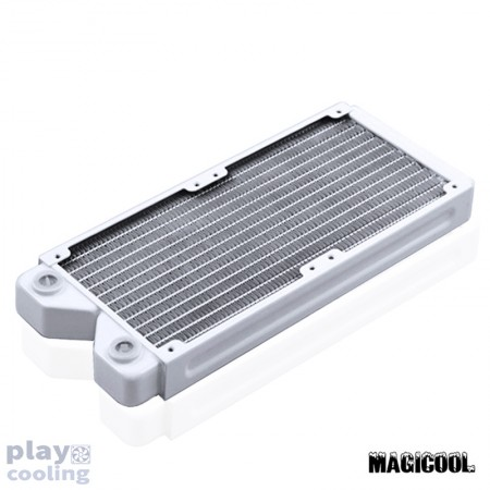 Magicool 240 G2 Copper Radiator Thick 27mm White (รับประกัน 1 ปี)