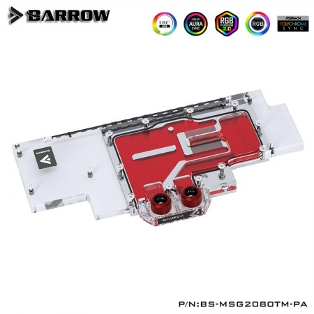 MSI RTX2080Ti 2080SUPER GAMING X TRIO Full coverage Barrow GPU water block