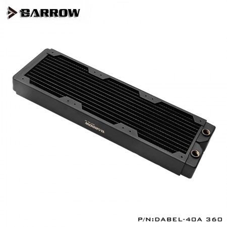 Barrow copper Radiator  Dabel-a series 360 40mm (รับประกัน 1 ปี)