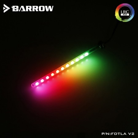 Barrow LED RGB LRC2.0 (ARGB) water tank of length 205MM quartz frosted glass soft (ไฟ ARGB สำหรับส่องเเทงค์)
