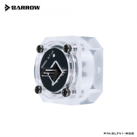 Barrow Flow Indicator 2 way RGB LRC2.0 (ARGB) 5V Version Green