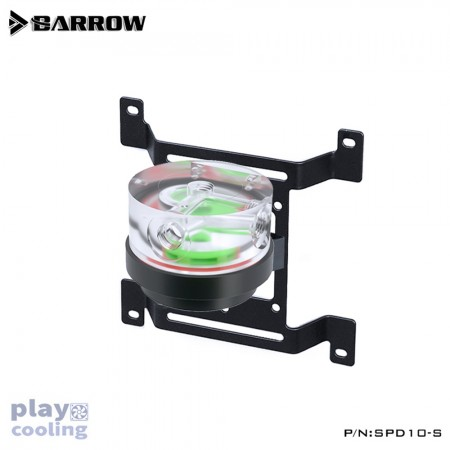 Barrow Pump for water cooling SPD10-S-PWM-10W Black (รับประกัน 1 ปี )