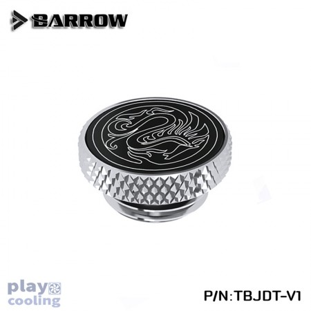 Barrow Mirror Finish Stop Plug Fitting (Limited Edtion) Silver
