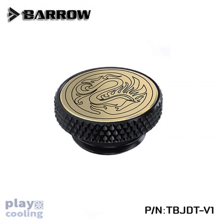 Barrow Mirror Finish Stop Plug Fitting (Limited Edtion) Gold