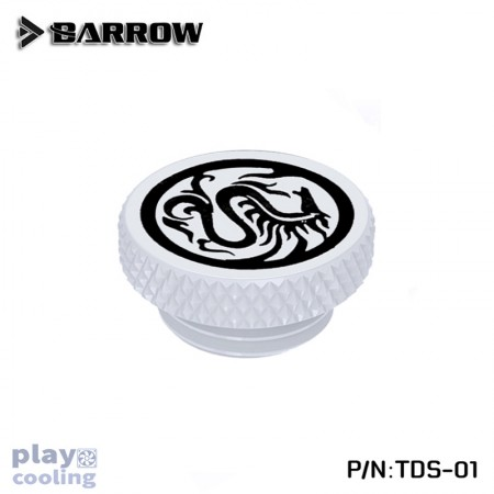 """Barrow G1/4"""" Stop Plug Fitting - Limited Edtion white"""
