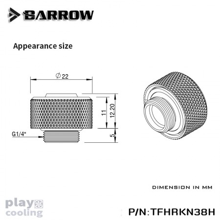 Barrow Choice Multicolor Compression Fitting (ID3/8-OD5/8) Chrome Silver