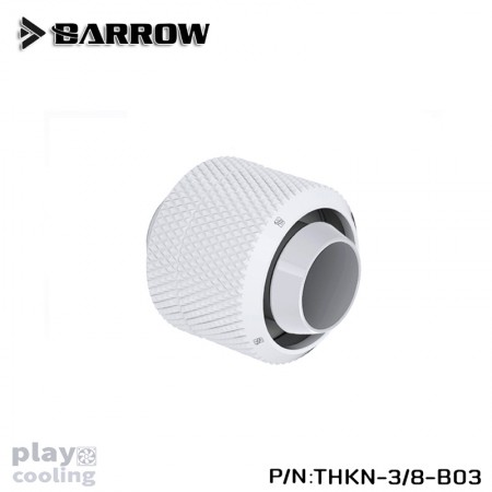 Barrow Compression Fitting (ID3/8-OD1/2) Soft Tubing white