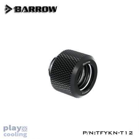 Barrow Choice Multicolor Compression Fitting : 12mm Black