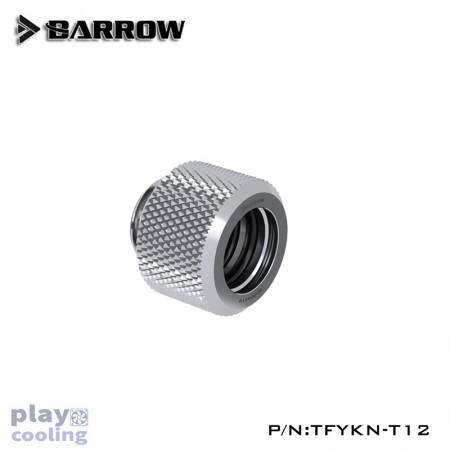 Barrow Choice Multicolor Compression Fitting : 12mm silver